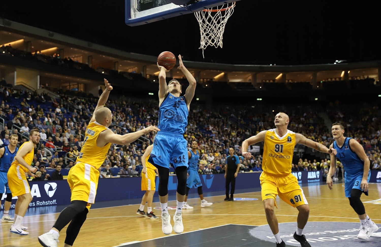 Martin Hermannsson - ALBA Berlin (photo Andreas Knopf - ALBA) - EC18