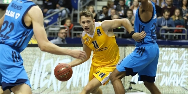 7DAYS EuroCup, Regular Season Round 4: ALBA Berlin vs. Arka Gdynia