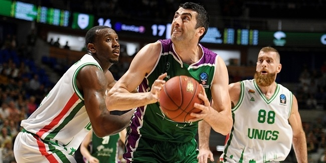 7DAYS EuroCup, Regular Season Round 4: Unicaja Malaga vs. UNICS Kazan
