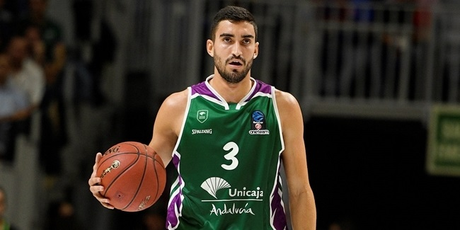 Jaime Fernandez, Unicaja: 'I arrived at a big, demanding club, but I keep it cool'