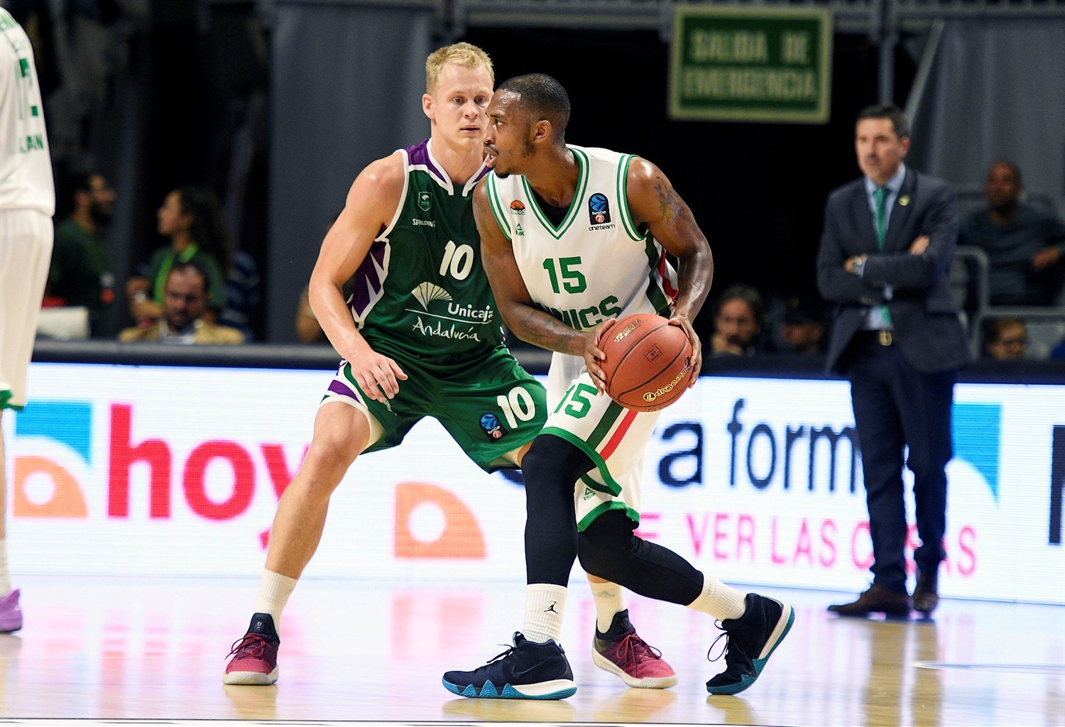 Jamar Smith - UNICS Kazan (photo Unicaja - Mariano Pozo) - EC18
