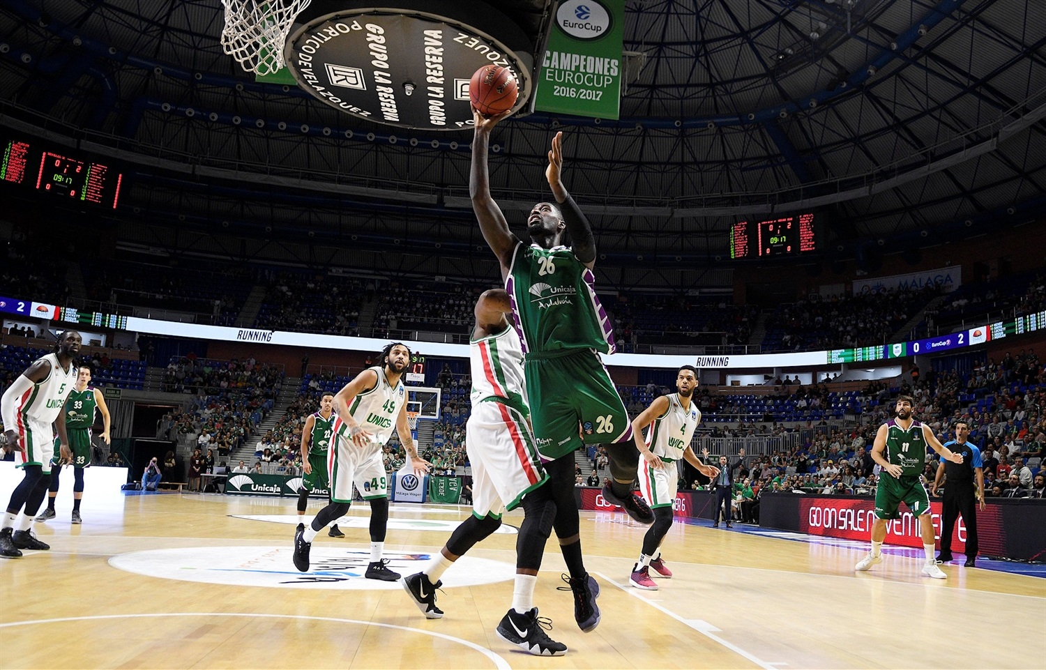 Mathias Lessort - Unicaja Malaga (photo Unicaja - Mariano Pozo) - EC18