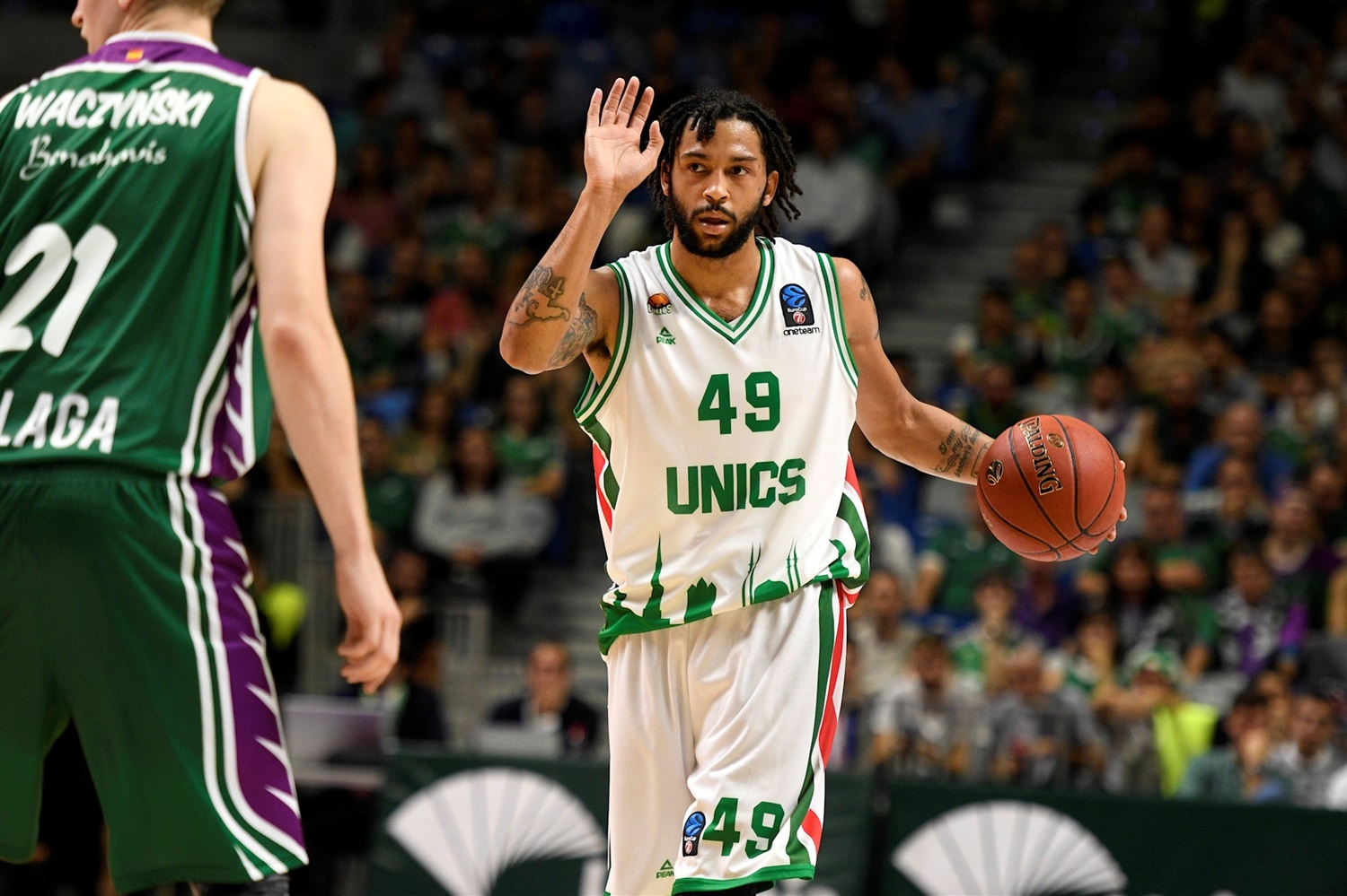 Pierria Henry - UNICS Kazan (photo Unicaja - Mariano Pozo) - EC18