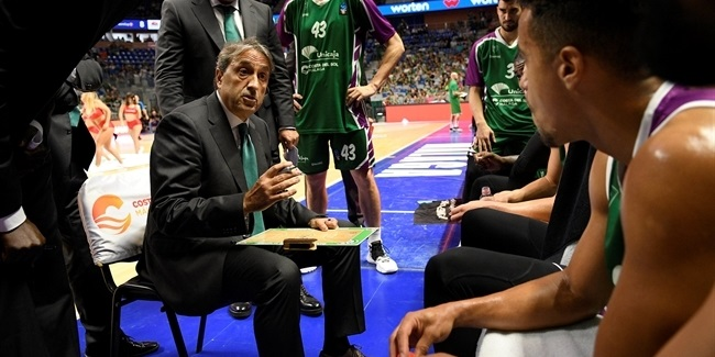 Unicaja keeps coach Casimiro