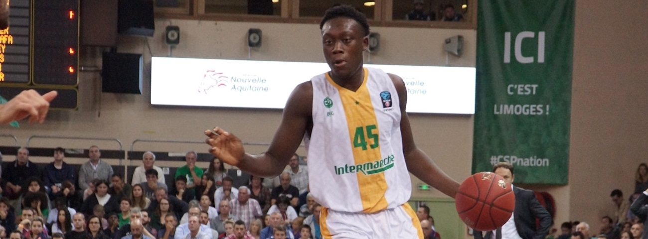 Limoges forward Doumbouya out for Top 16