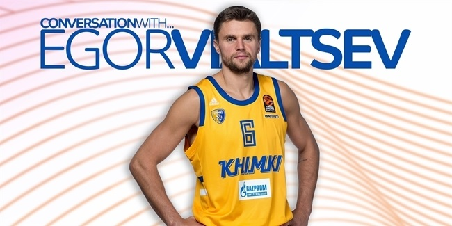 Egor Vialtsev: 'Khimki has become my home'