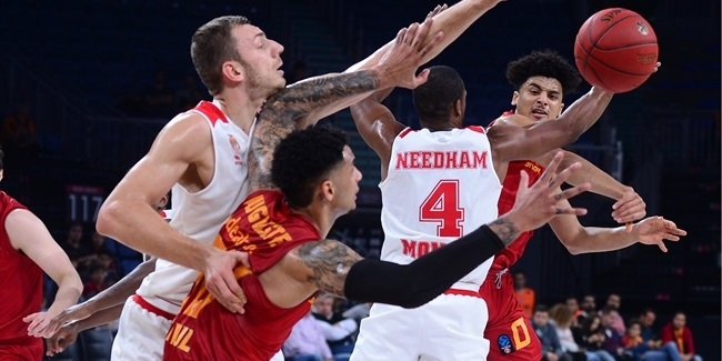 7DAYS EuroCup, Regular Season Round 4: Galatasaray Istanbul vs. AS Monaco