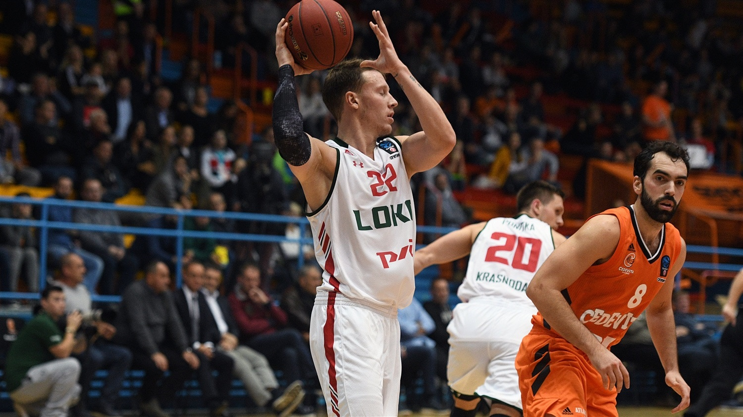Dmitry Kulagin - Lokomotiv Kuban Krasnodar (photo Cedevita) - EC18