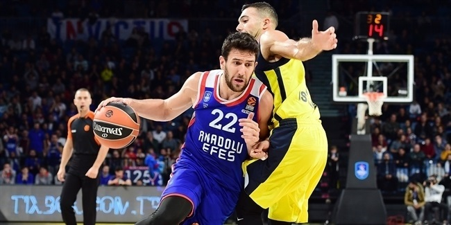 Preseason: Efes tops Fenerbahce for cup crown