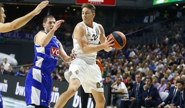 RS Round 4 report: Madrid cruises past Buducnost to stay perfect