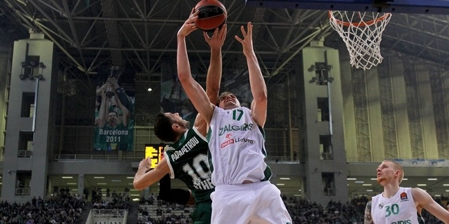 Rebounding dominance wins it for Zalgiris