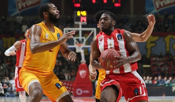 RS Round 5: Zvezda blasts Galatasaray, improves to 4-1