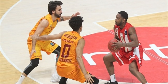 7DAYS EuroCup, Regular Season Round 5: Crvena Zvezda mts Belgrade vs. Galatasaray Istanbul