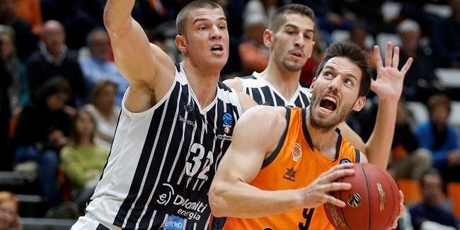 7DAYS EuroCup, Regular Season Round 5: Valencia Basket vs. Dolomiti Energia Trento