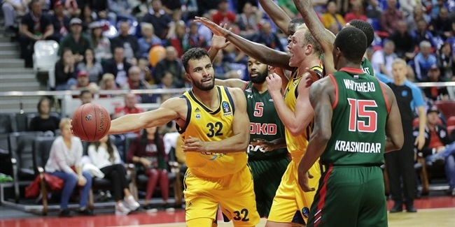 7DAYS EuroCup, Regular Season Round 5: Lokomotiv Kuban Krasnodar vs. ALBA Berlin