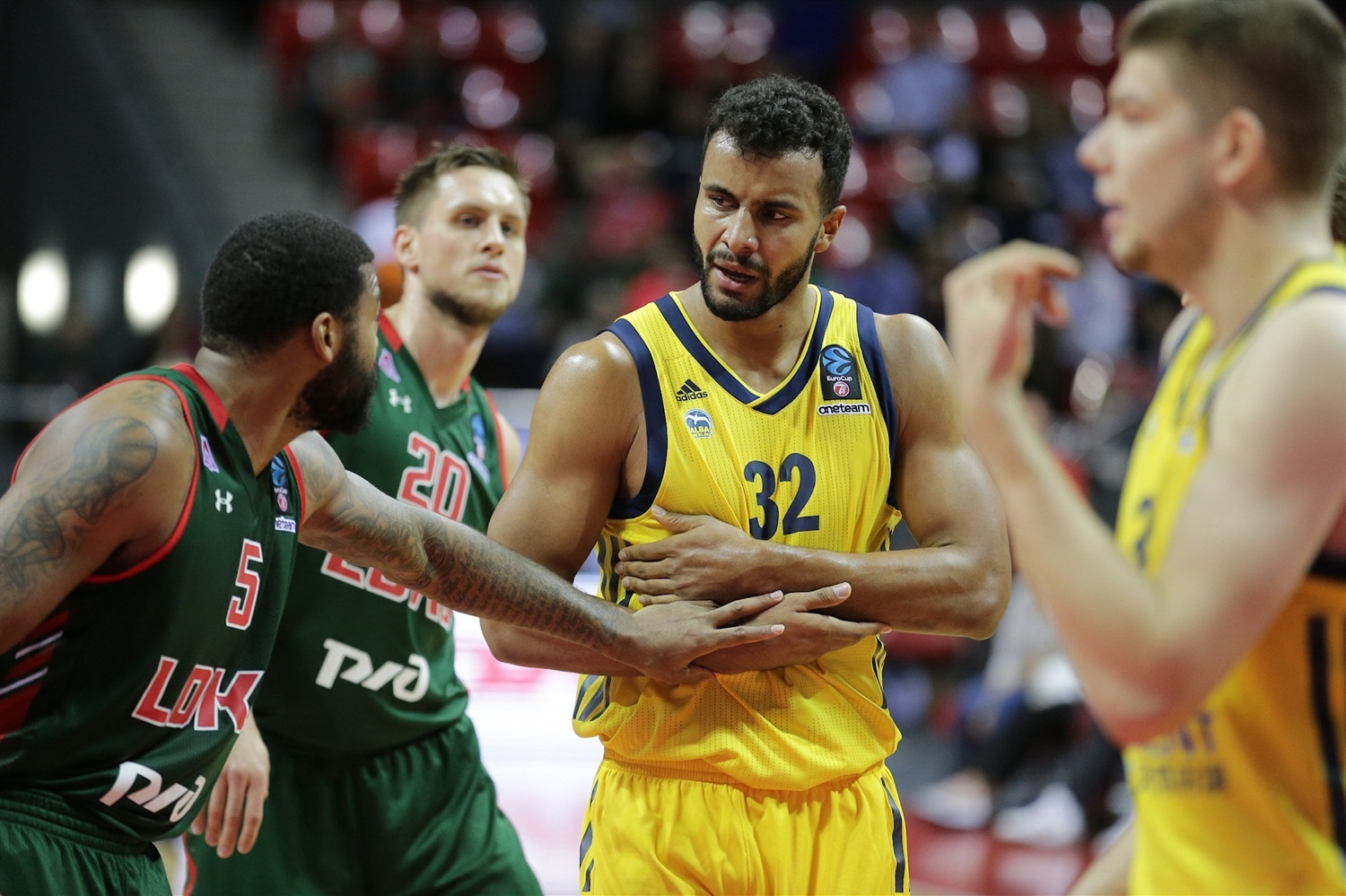 Johannes Thiemann - ALBA Berlin (photo Lokomotiv) - EC18