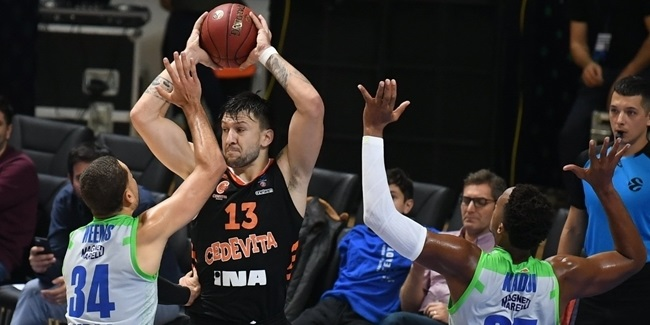 Andrija Stipanovic, Cedevita: 'I cannot play basketball without energy'