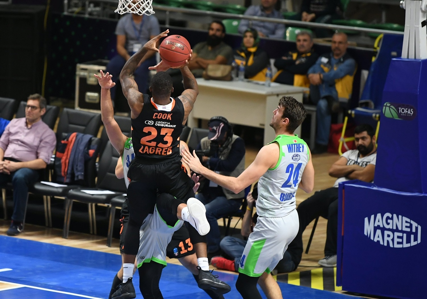 Elgin Cook - Cedevita Zagreb (photo Ozan Demir - Tofas) - EC18