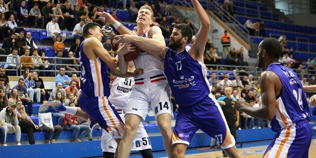 7DAYS EuroCup, Regular Season Round 5: Mornar Bar vs. Rytas Vilnius