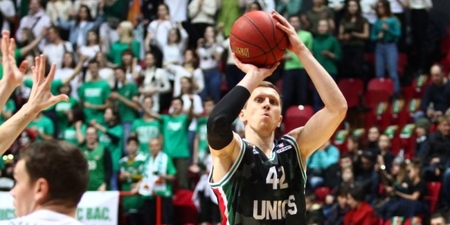 UNICS keeps sharpshooter Kolesnikov