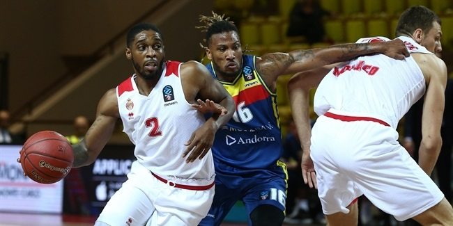 7DAYS EuroCup, Regular Season Round 5: AS Monaco vs. Morabanc Andorra