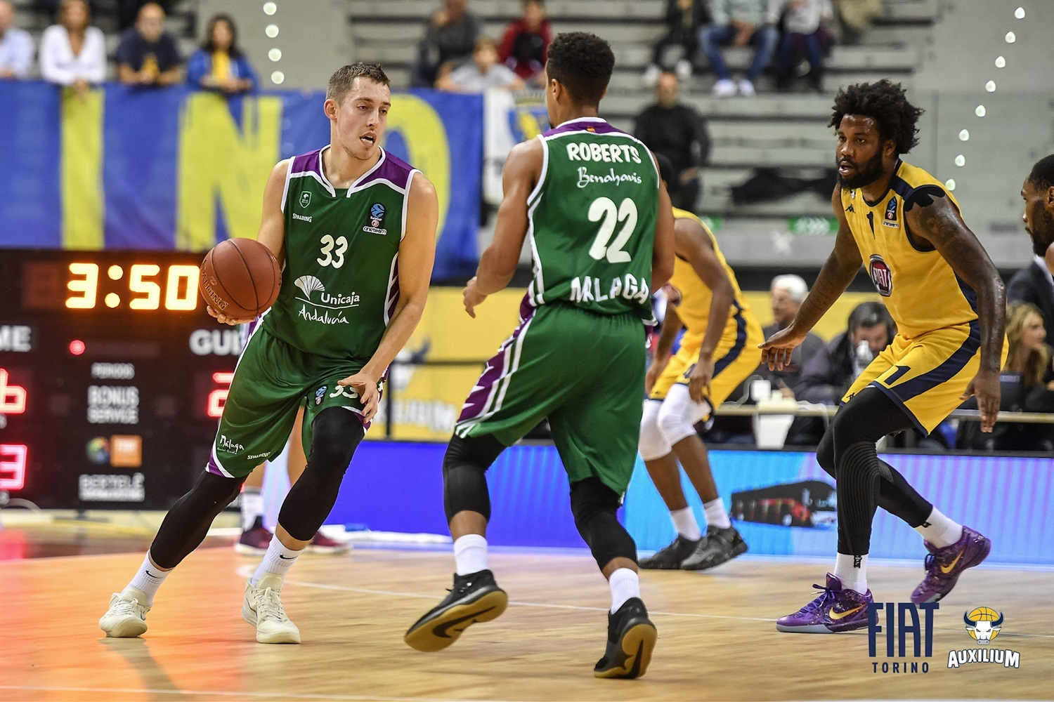 Kyle Wiltjer - Unicaja Malaga (photo Fiat Turin) - EC18