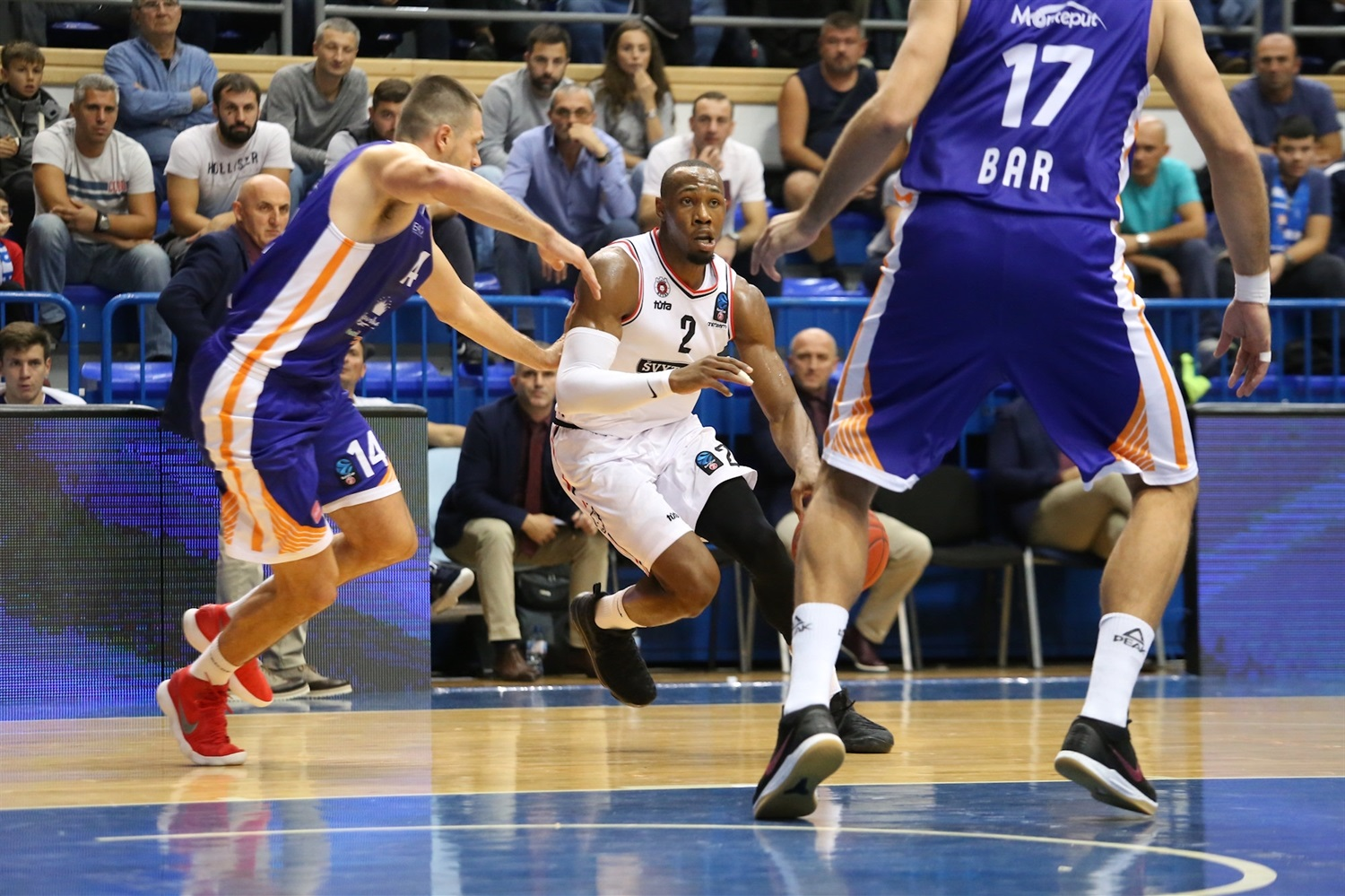 Dominique Sutton - Rytas Vilnius (photo Mornar) - EC18