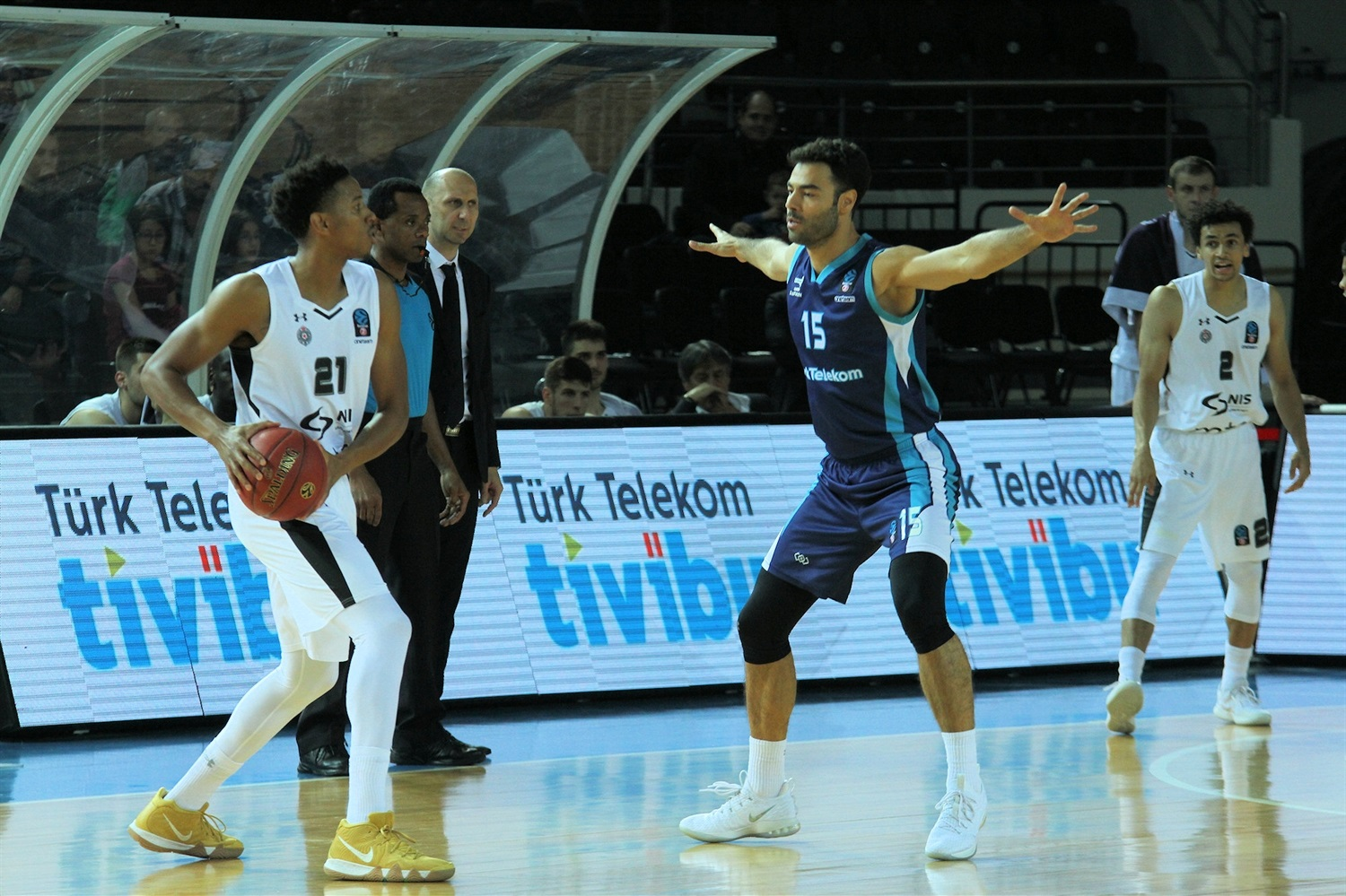 Anthony Brown - Partizan NIS Belgrade (photo Turk Telekom) - EC18