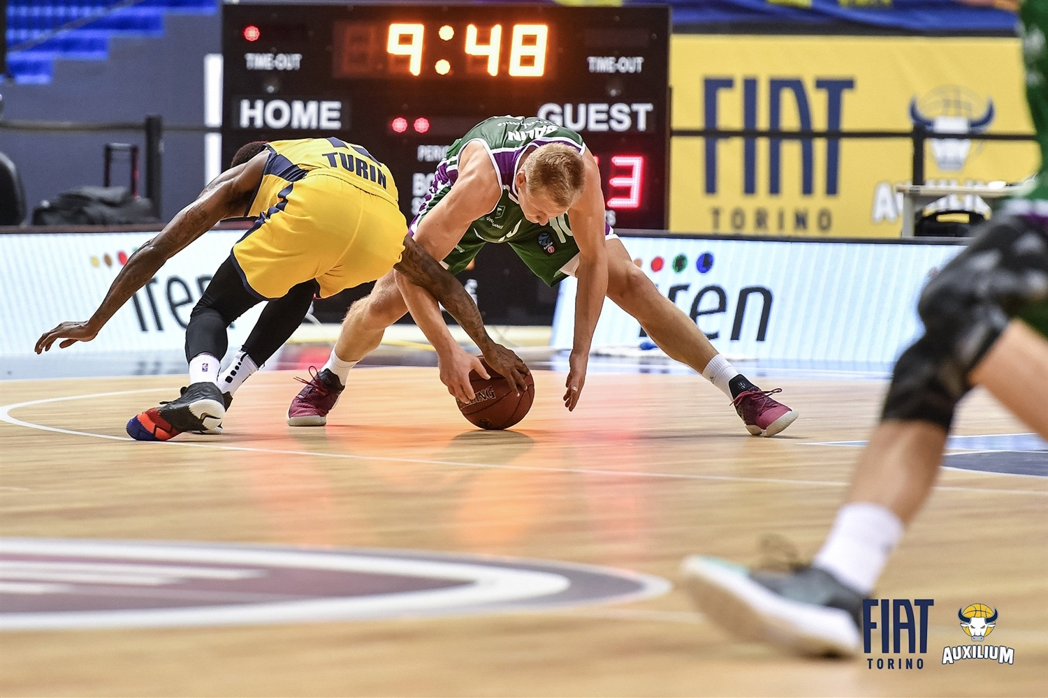 Sasu Salin - Unicaja Malaga (photo Fiat Turin) - EC18