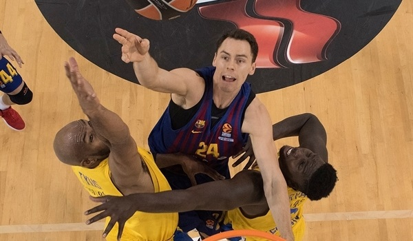 RS Round 5 report: Barcelona sinks Maccabi, extends winning streak