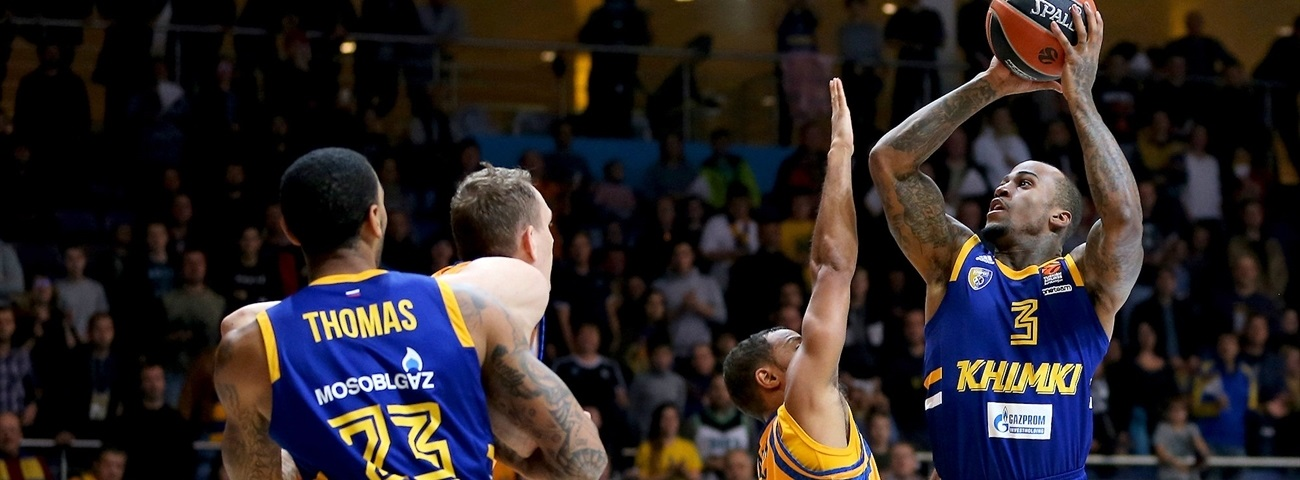 Khimki makes sure to seal first win