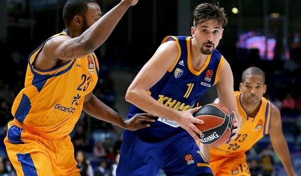 RS Round 5 report: Shved strikes again as Khimki cruises to first win