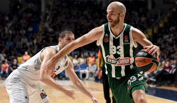 RS Round 5 report: Panathinaikos survive battle at Buducnost for first road win