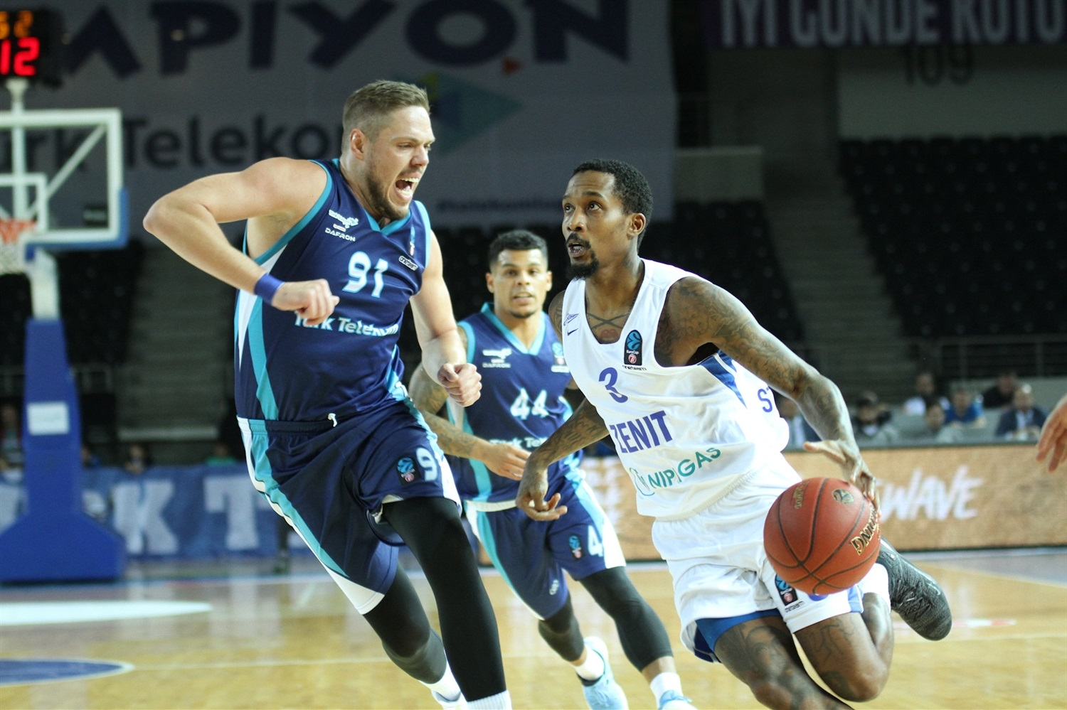 Brandon Jennings - Zenit St Petersburg (photo Turk Telekom) - EC18