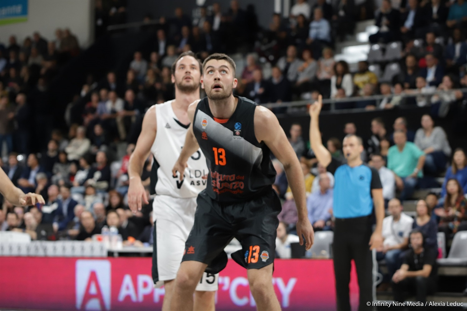 Mike Tobey - Valencia Basket (photo Infinity Nine Media - Alexia Leduc) - EC18