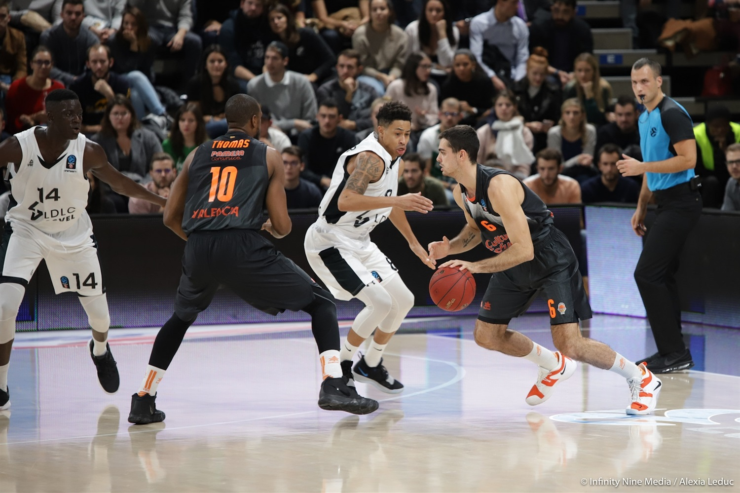 Alberto Abalde - Valencia Basket (photo Infinity Nine Media - Alexia Leduc) - EC18