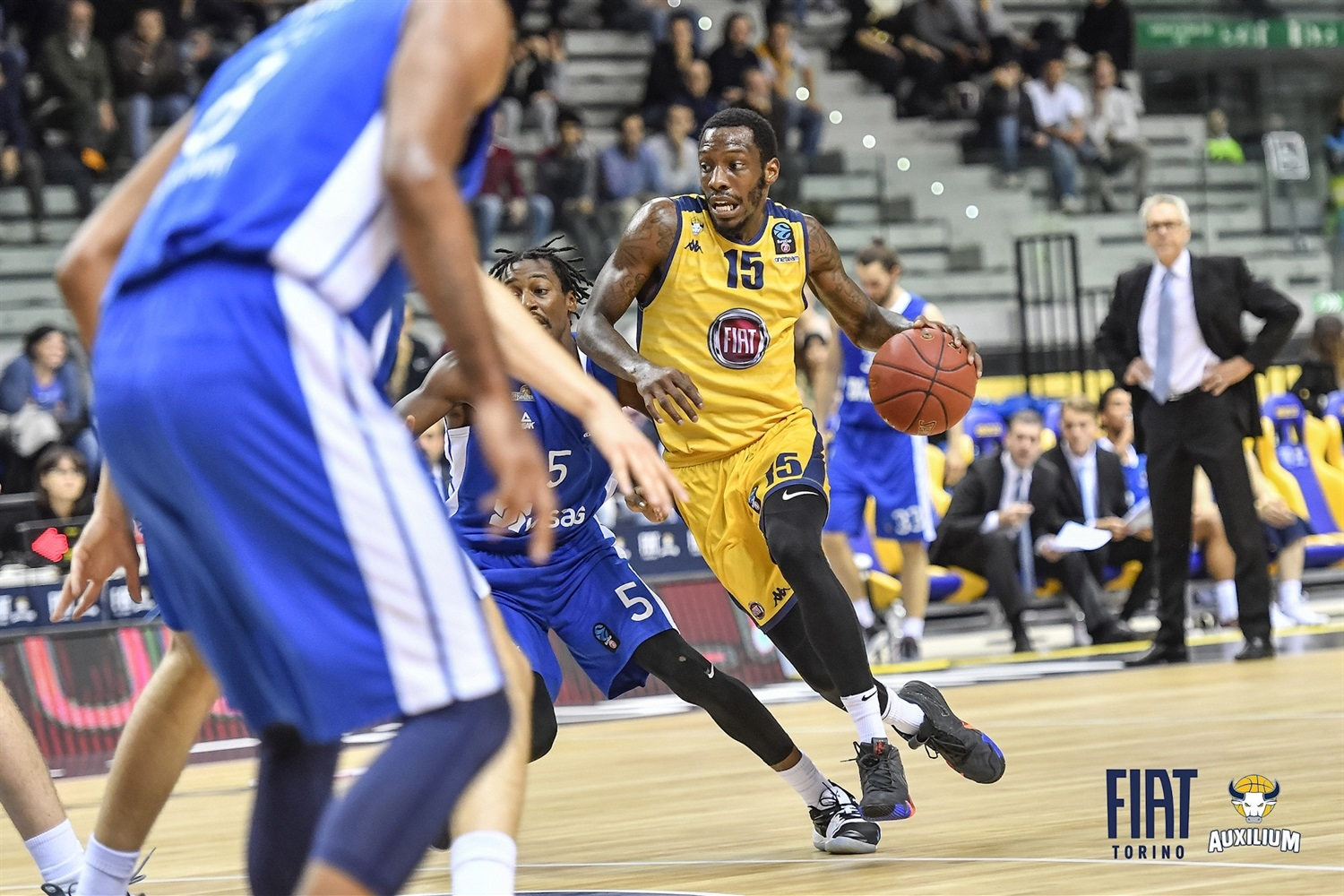Tyshawn Taylor - Fiat Turin (photo Fiat Turin) - EB18