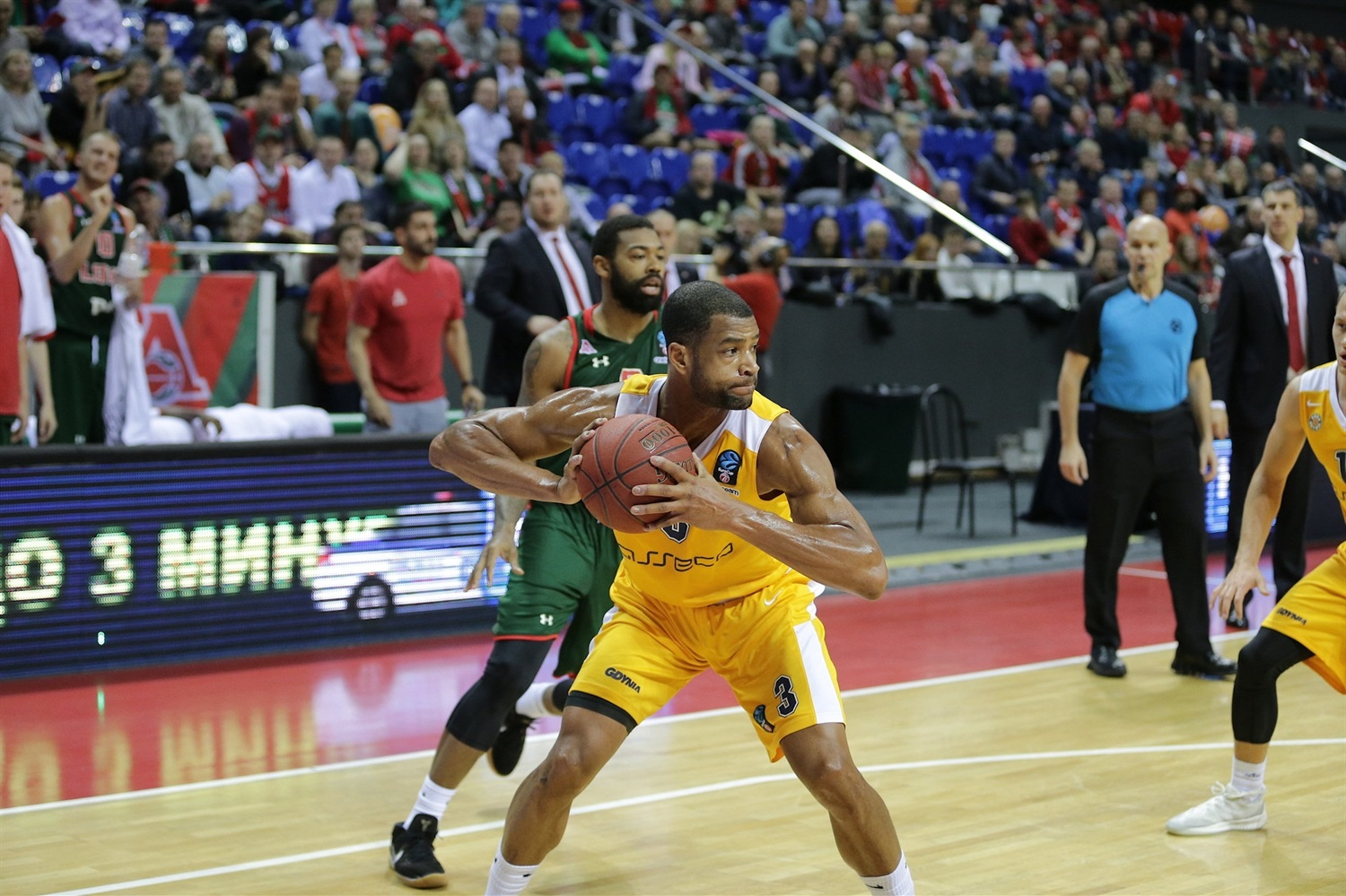 Josh Bostic - Arka Gdynia (photo Lokomotiv) - EC18