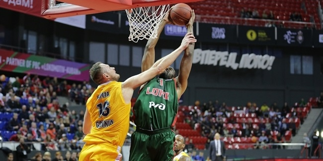 7DAYS EuroCup, Regular Season Round 6: Lokomotiv Kuban Krasnodar vs. Arka Gdynia
