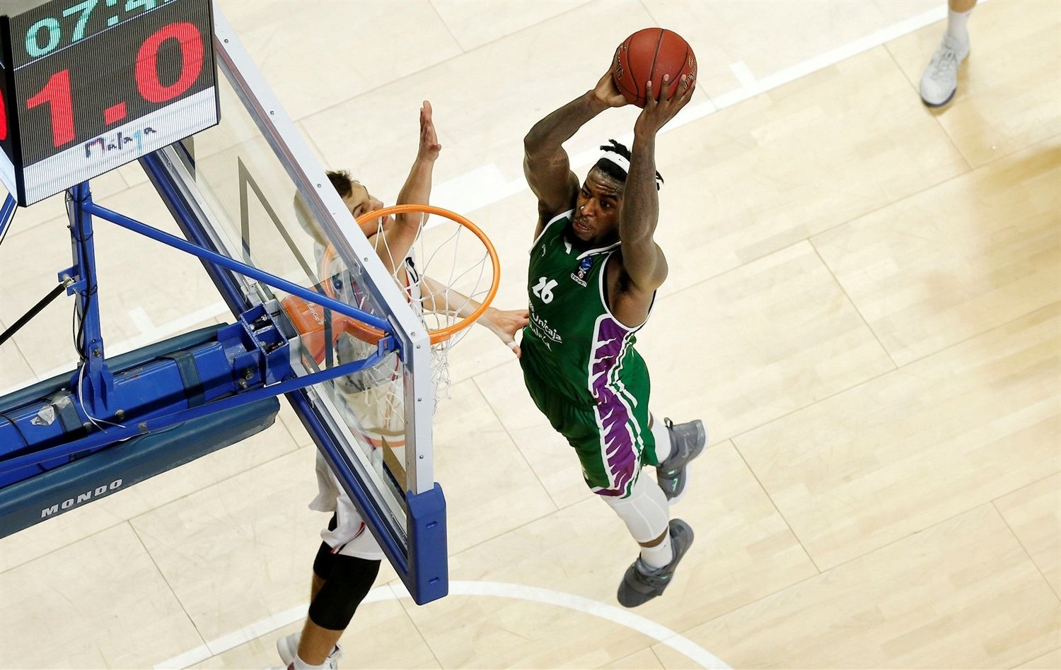 Mathias Lessort - Unicaja Malaga (photo Unicaja) - EC18