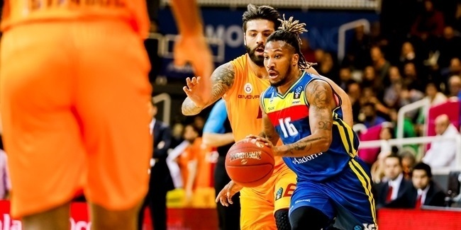 7DAYS EuroCup, Regular Season Round 6: MoraBanc Andorra vs. Galatasaray Istanbul