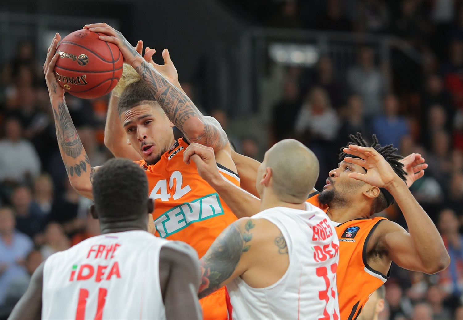 Isaac Fotu - ratiopharm Ulm (photo Ulm - Florian Achberger) - EC18