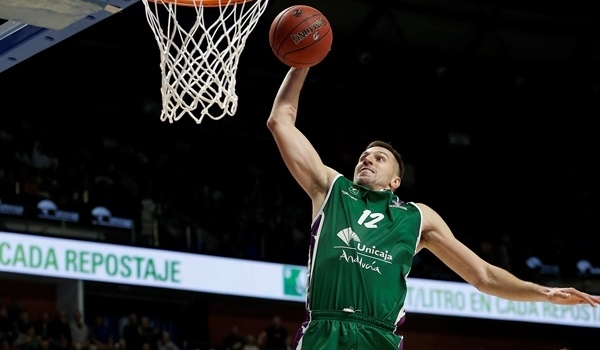 Unicaja's Milosavljevic, out long term