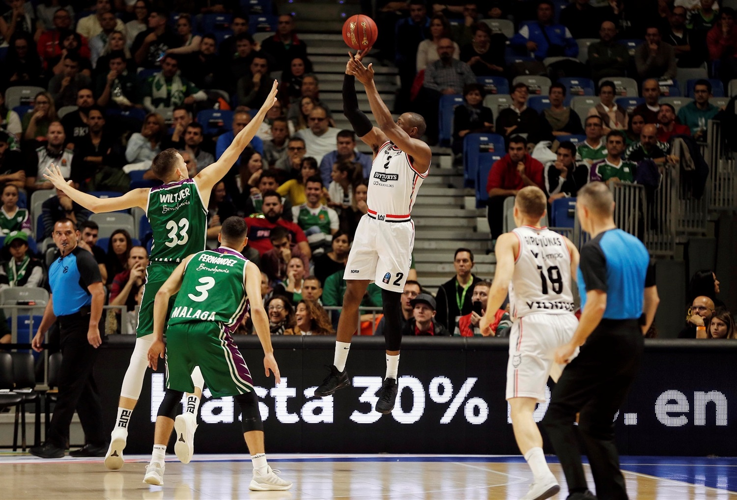 Dominique Sutton - Rytas Vilnius (photo Unicaja) - EC18