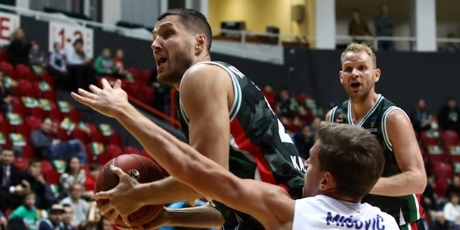UNICS keeps forward Koshcheev