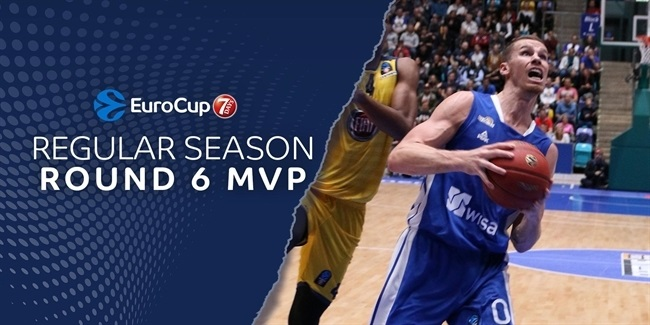 7DAYS EuroCup Regular Season Round 6 MVP: Erik Murphy, Fraport Skyliners Frankfurt