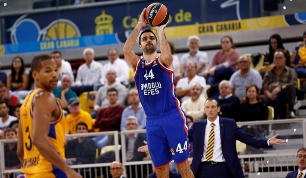RS Round 6 report: Late comeback gives Efes road win over Gran Canaria