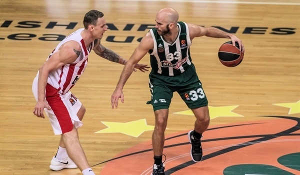 RS Round 6 report: Panathinaikos paints the Greek Derby green