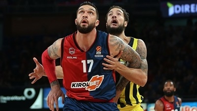 Interview, Vincent Poirier, Baskonia: 'I am not scared of anybody'