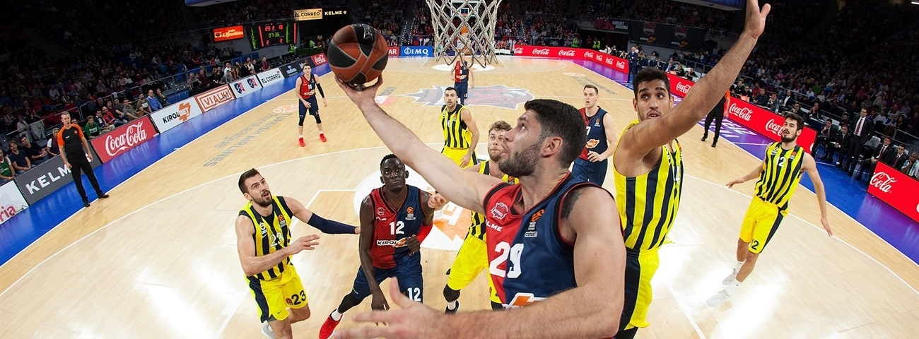 Baskonia loses Garino until 2019